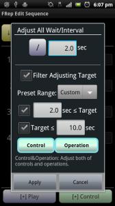FRep Adjust Interval