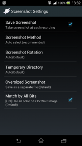FRep Screenshot Settings